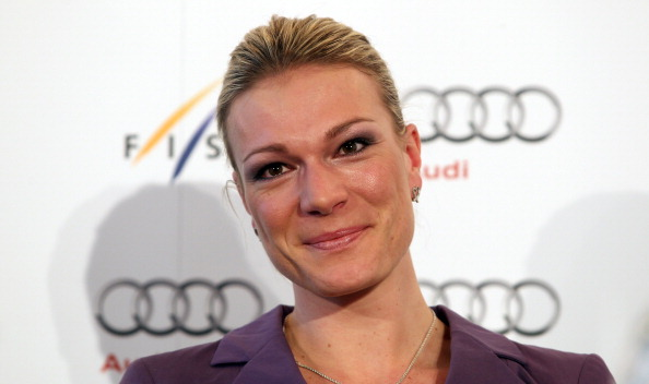 Maria Höfl-Riesch has retired from international competition ©Bongarts/Getty Images