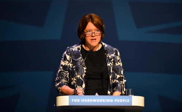 Maria Miller, Secretary of State for Culture, Media and Sport, has defended the aim of increasing Great Britain's medal haul at Rio 2016 ©AFP/Getty Images
