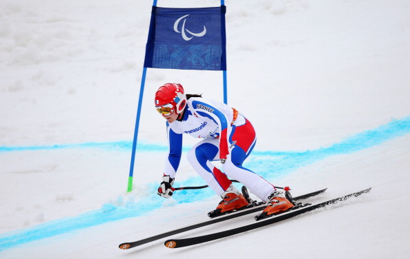 Marie Bochet of France claimed her third gold medal of the Games in the standing super combined today ©Getty Images