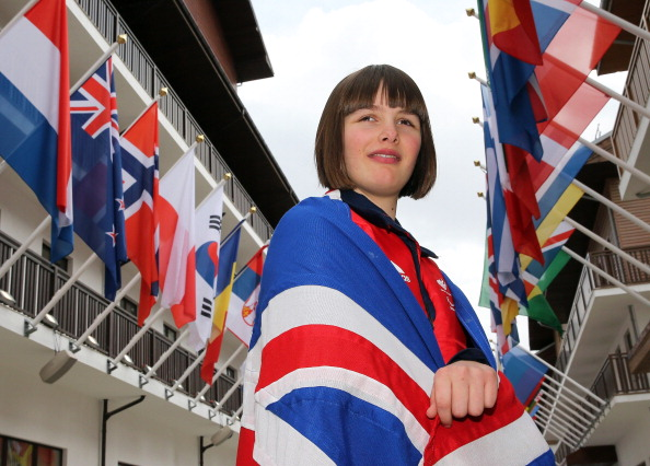 Millie Knight will lead the British team out into the Fisht Olympic Stadium at the Paralympic Opening Ceremony ©Getty Images
