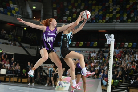 Surrey Storm have triumphed over the Hertfordshire Mavericks at the Copper Box Arena in London ©Gary Baker