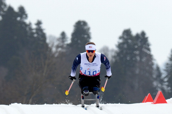 Oksana Masters has now won medals at the last two Paralympic Games summer and winter ©AFP/Getty Images