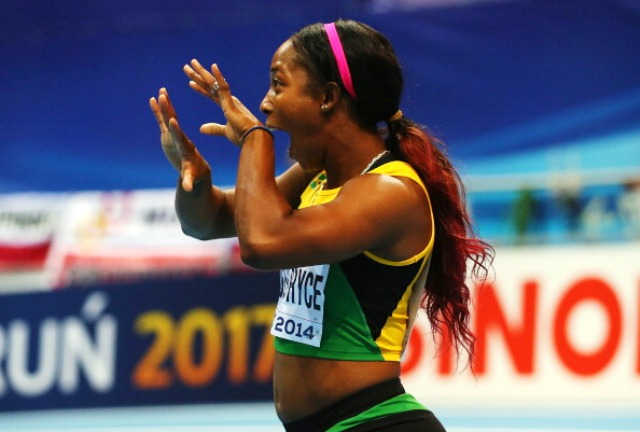 Olympic and world champion Shelley-Ann Fraser-Pryce has confirmed her intention to go for Commonwealth gold this summer ©Getty Images
