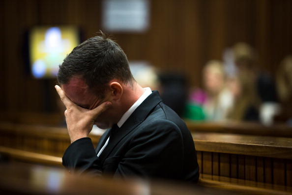 Oscar Pistorius has spent an 11th day listening to evidence in his murder trial ©AFP/Getty Images