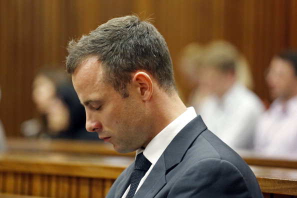 Oscar Pistorius once fired a gun out of the roof of his car, the court heard today ©AFP/Getty Images