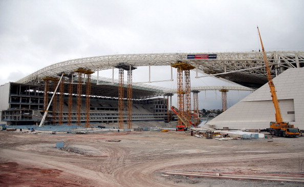 Preparations for the 2014 World Cup in Brazil have been beset with problems including the construction of Stadiums and civil unrest over spiralling costs ©Getty Images