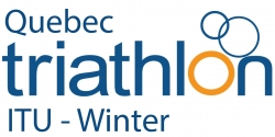 The new winter triathlon format made its debut in Quebec
