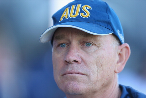 Ric Charlesworth will step down as coach of the Australian men's hockey team after Glasgow 2014 ©Getty Images