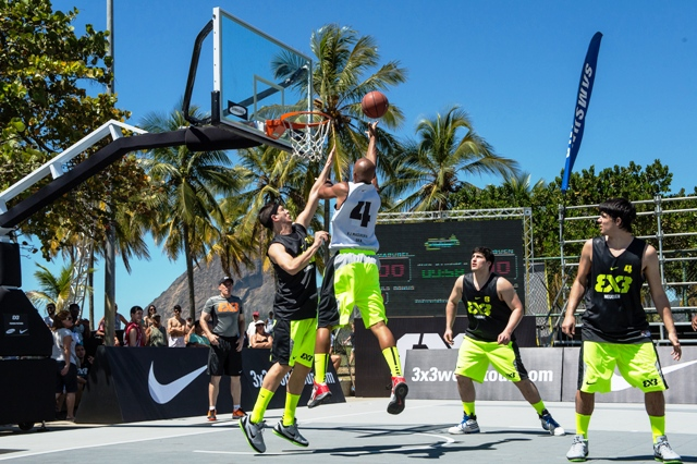 Rio de Janeiro will host a 3x3 World Tour Masters event in September this year ©FIBA