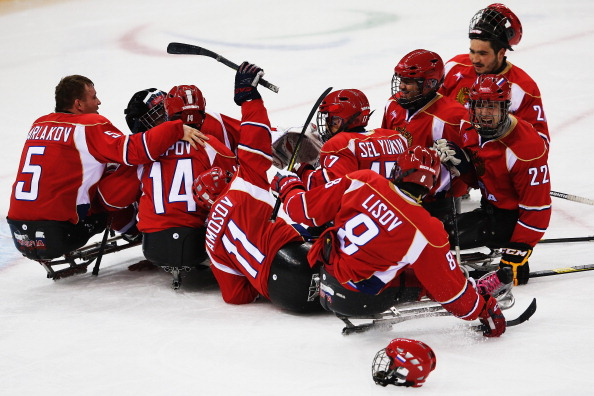 Russia have guaranteed themselves an ice sledge hockey medal after beating Norway in the semi-final ©Getty Images