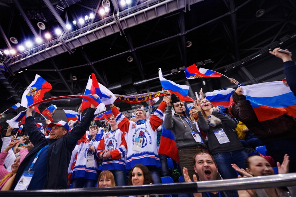Russian fans will be eagarly anticipating an ice sledge hockey semi-final on day six of the Sochi 2014 Paralympics ©Getty Images