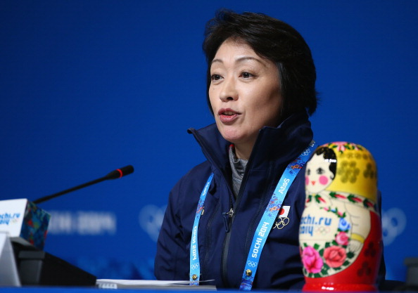 Japan's Sochi 2014 Chef de Mission Seiko Hashimoto is one of seven women appointed to the Tokyo 2020 Executive Board ©Getty Images