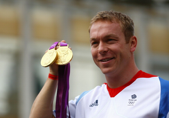 Sir Chris Hoy's gold medals in the velodrome at London 2012 were two of the seven won by Scots-born athletes at the Games ©Getty Images