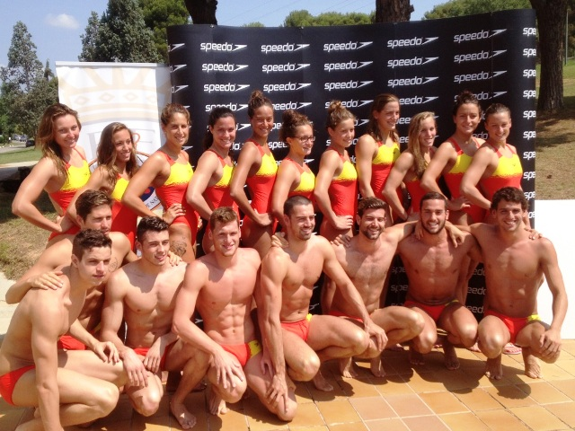 Spanish athletes will sport Speedo equipment and products at all major international events up until December 2017 ©Speedo