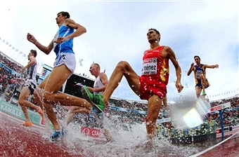 Spanish steeplechaser Antonio David Jiménez Pentinel has been arrested on drug trafficking charges ©Getty Images