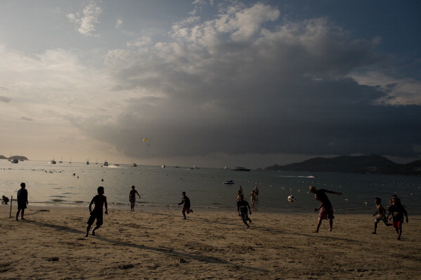 Stunning backdrops are assured when Squash makes its Asian Beach Games debut ©AFP/Getty Images