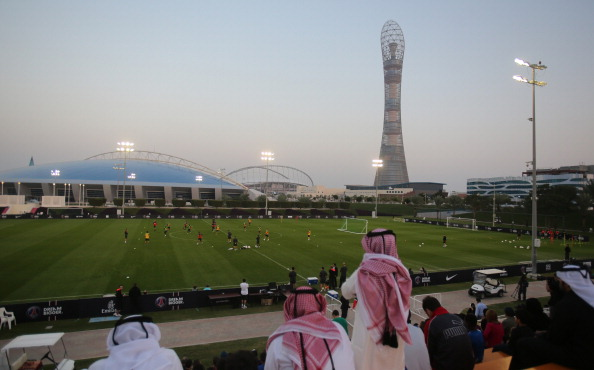 The 2014 Schools Olympic Programme took place at Doha's Aspire Academy ©AFP/Getty Images
