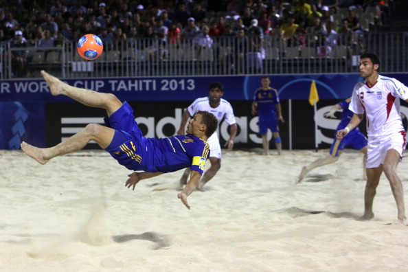 The Beach Soccer World Cup 2017 is one of eight tournaments which FIFA is inviting bids for ©AFP/Getty Images