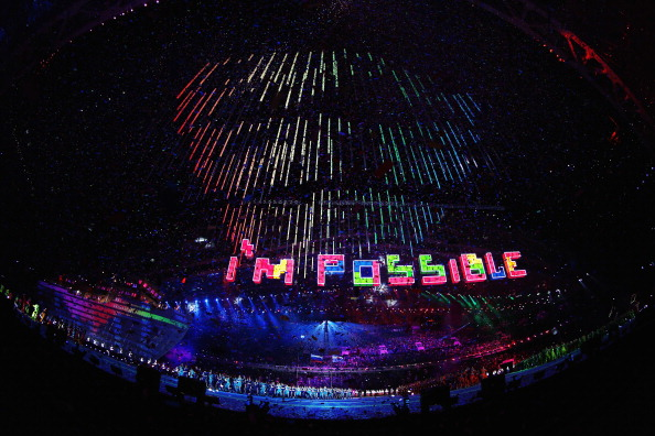 The Closing Ceremony sought to prove that the impossible is possible ©Getty Images