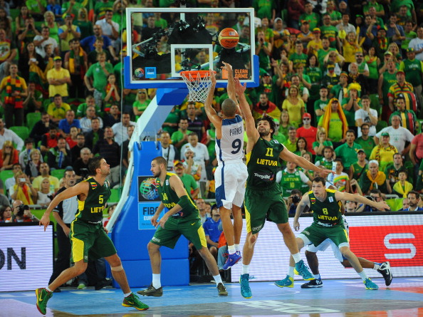 The FFBB has submitted an offer to replace the politically-turbulent Ukraine as hosts of EuroBasket 2015 ©Getty Images