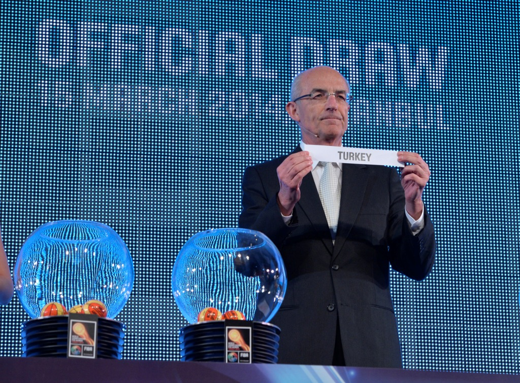 The Official Draw for the 2014 FIBA World Championship for Women took place at the Ciragan Palace in Istanbul ©2014 FIBA