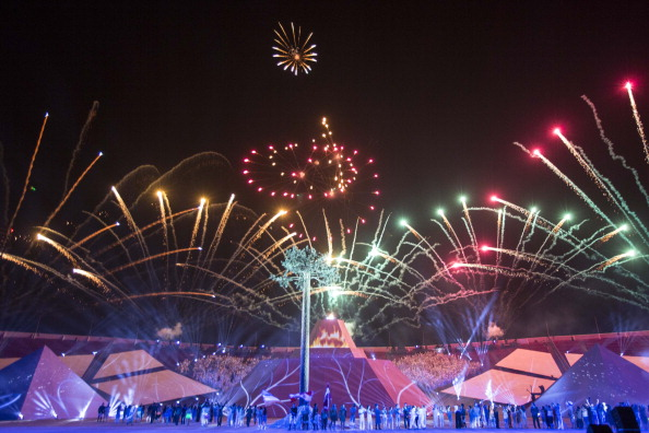 The South American Games kicked off with a bang on Friday with the official Opening Ceremony ©LatinContent/Getty Images
