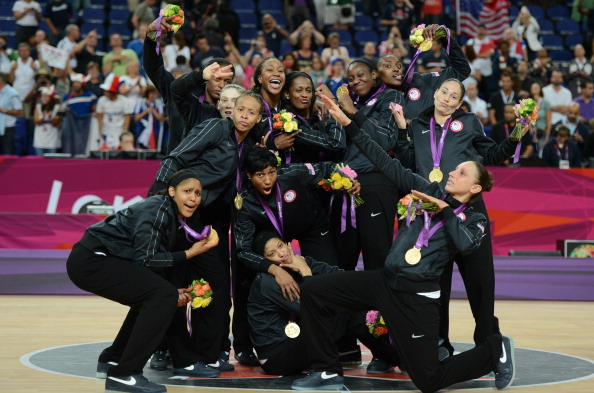 The US women booked their spot at the World Championships with victory in the London 2012 Olympic Games ©Getty Images