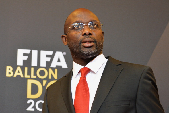 The new training centre is set to be named after football legend George Manneh Weah, a political rival to the Government of Liberia ©FIFA/Getty Images