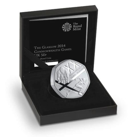 The special edition coin comes in a Royal Mint display case complete with a certificate of authenticity ©The Royal Mint