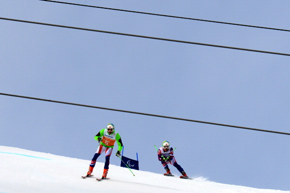 There was beautiful weather in Sochi for the Alpine events this morning ©AFP/Getty Images