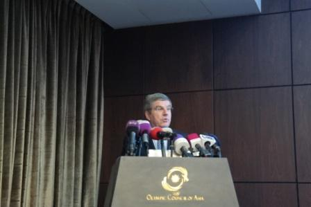 Thomas Bach sees ANOC as a key component of Agenda 2020 ©ITG