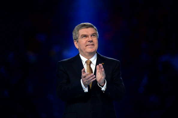 Thomas Bach, pictured during the Winter Olympics in Sochi, spoke about the importance of autonomy in National Olympic Committees ©Getty Images