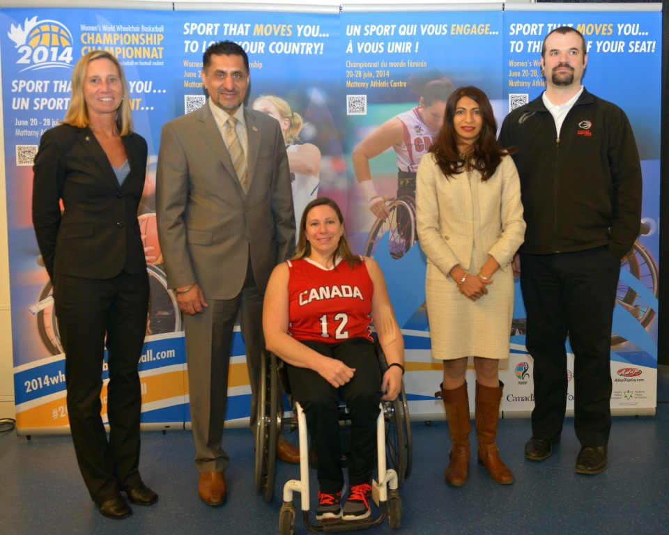 Tickets have gone on sale for the 2014 Women's Wheelchair Basketball World Championships ©Wheelchair Basketball Canada/Phillip MacCallum