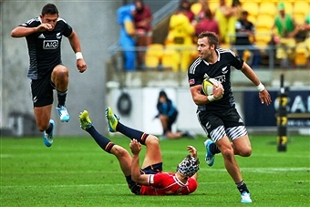 Top rugby sevens stars have taken part in a special HSBC promotional video ahead of the Hong Kong Sevens ©Getty Images