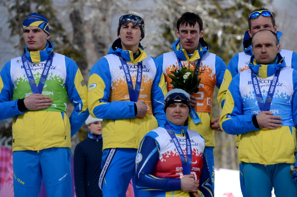 Ukraine have finished fourth in the Sochi 2014 medals table with huge success in Nordic skiing ©AFP/Getty Images