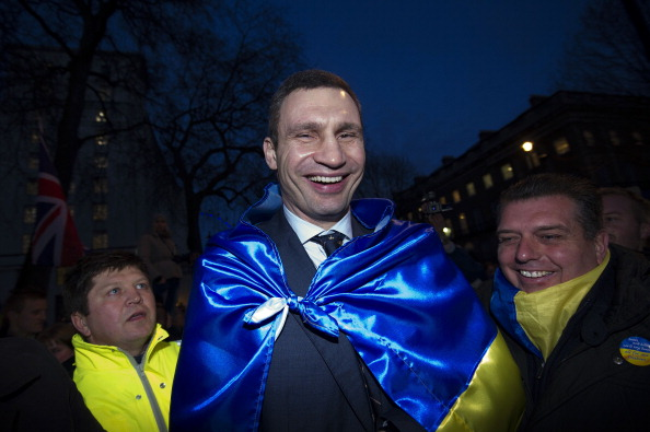 Vitali Klitschko. leader of the Ukrainian Democratic Alliance for Reforms party, had indicated he would stand in the Presidential race ©AFP/Getty Images