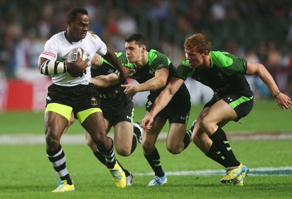 Wales tried and tried, but Fiji ultimately won their encounter 42-7 ©Getty Images