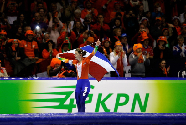 With four medals Ireen Wust was one of the biggest Dutch stars at Sochi 2014...and she has since won her fourth successive world all round title ©Getty Images