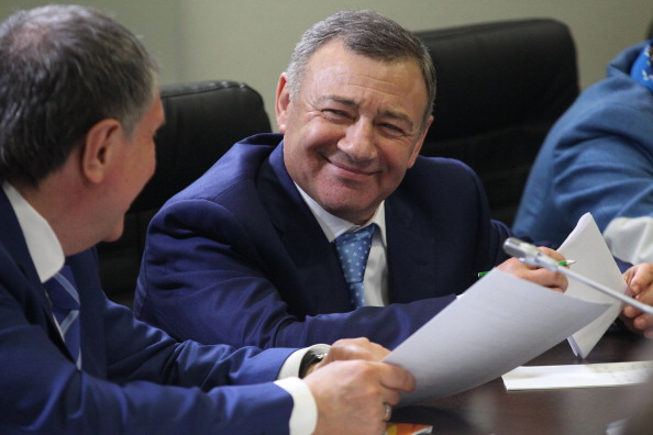 Russian billionaire Arkady Rotenberg still plans to travel to Turkey next month for the SportAccord International Convention ©Getty Images