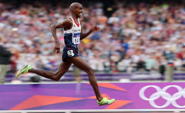 Mo Farah won two of Team GB's 29 gold medals at London 2012 ©Getty Images