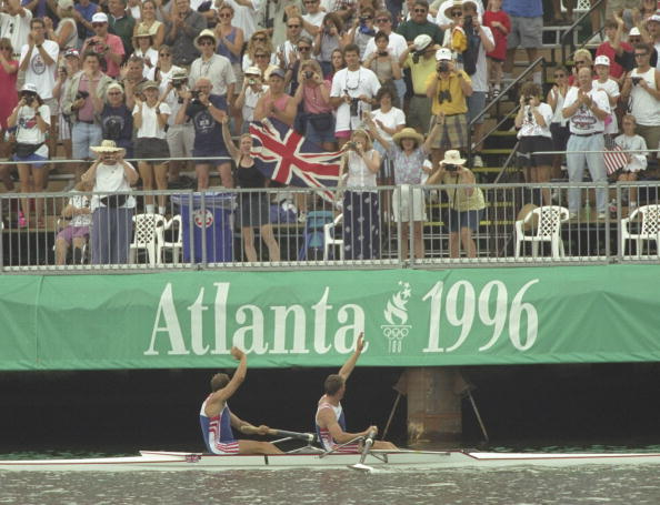 Britain's position in the Olympics medal table has improved dramatically since Atlanta 1996, when Sir Steve Redgrave and Sir Matthew Pinsent won the team's only gold medal ©Getty Images