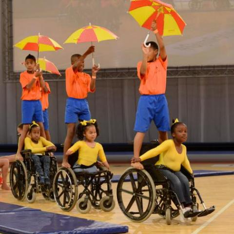 The Gymnastics for All symposium will focus on the sport for athletes with disabilities ©FIG