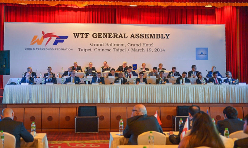 The WTF has unamiously approved amendments to its Statutes and competition rules and poomsae competition rules at a General Assembly in Chines Taipei ©WTF