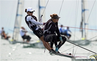 Alex Maloney and Molly Meech will be returning to competitive action in Mallorca this week ©AFP/Getty Images
