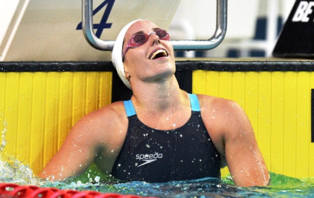 Alicia Coutts will be defending five Commonwealth Games titles at Glasgow 2014 ©Getty Images