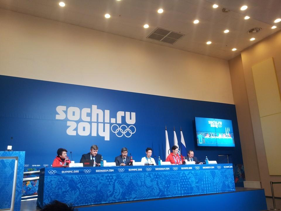 Almaty 2022 were at the Sochi 2014 Games to learn as much as they could about staging an Olympics and Paralympics, as well as to promote their bid ©ITG