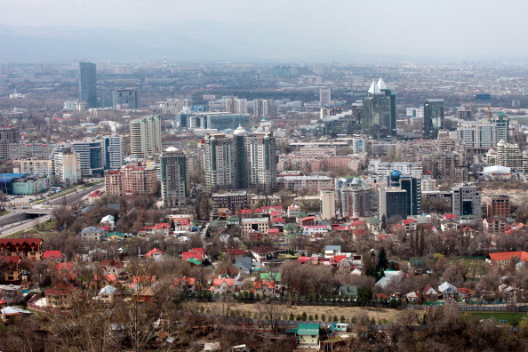 Almaty could be centre stage in 2022, but those behind the bid know there is still plenty of work to be done ©Bloomberg via Getty Images