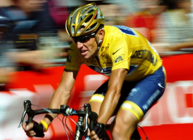 Armstrong admitted to doping during all seven of his Tour de France wins ©AFP/Getty Images