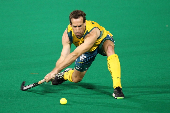 Athens 2004 Olympic hockey champion Liam de Young is one of four current FIH Athletes' Committee members standing for re-election ©Getty Images