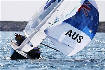 Australia leads the way after three days of racing at the ISAF World Cup in Hyères ©Getty Images